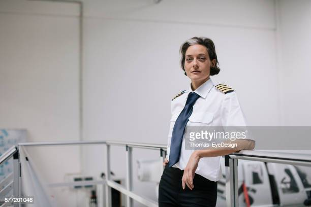 Portrait Of Female Flight Instructor
