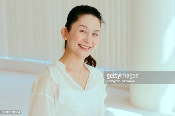 portrait of female instructor - 女性 ストックフォトと画像