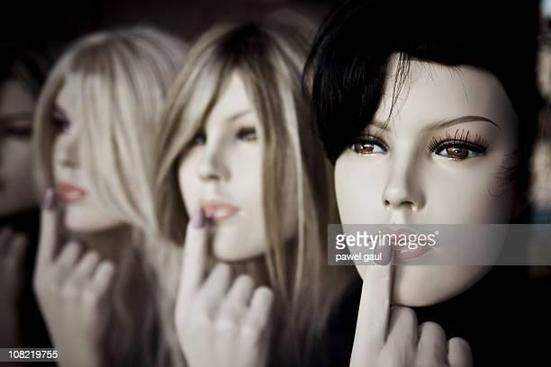 Portrait of Female Mannequins