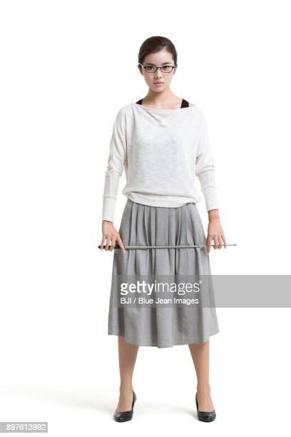Portrait of female teacher