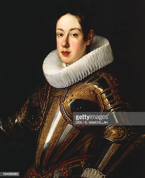 Portrait of Ferdinando II de' Medici ca 1628 Grand Duke of Tuscany Painting by Justus Suttermans Florence Palazzo Pitti Galleria Palatina