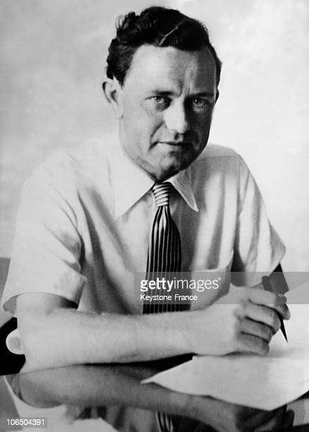 Portrait Of Ferry Porsche On March 27Th 1951 After His Father Death Engineer He Takes Over The Car Making