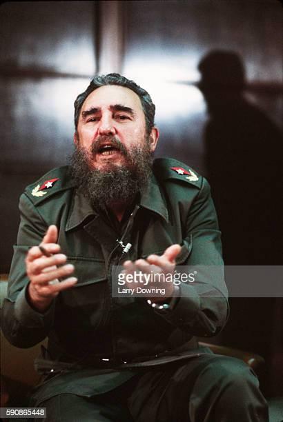 Portrait of Fidel Castro