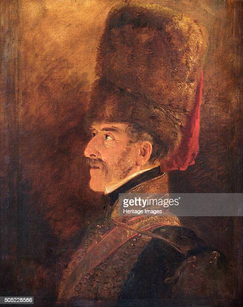 Portrait of Field Marshal Henry William Paget 1st Marquess of Anglesey British soldier 1821 Despite personal differences with the Duke of Wellington...