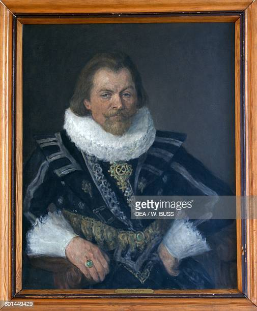 Portrait of Filip Juliusz Duke of Pomerania Castle of the Pomeranian Dukes Szczecin West Pomeranian Voivodeship Poland 14th18th century