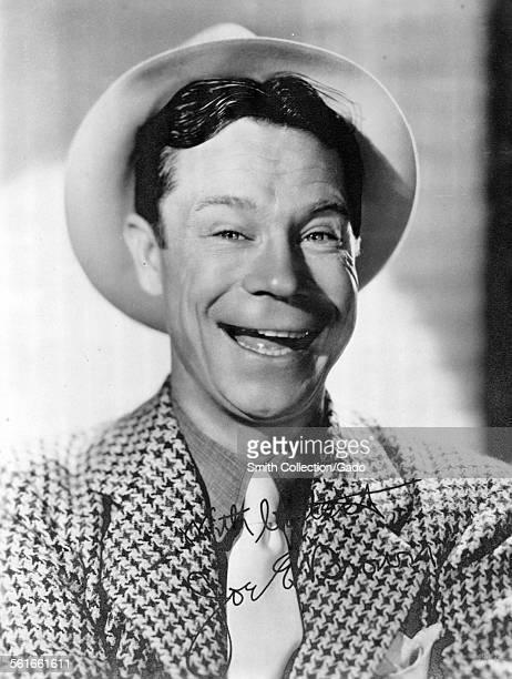 Portrait of film actor Joe E Brown 1933