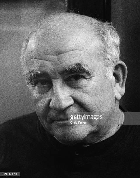 Portrait of filmmaker Ed Asner London England 1989