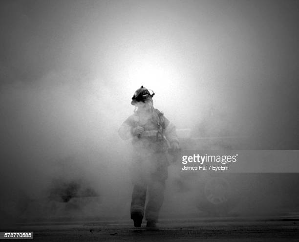 portrait of firefighter - firefighter stock pictures, royalty-free photos & images
