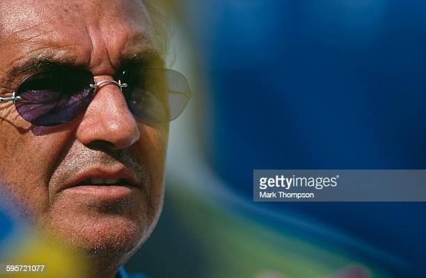 Portrait of Flavio Briatore team principal for the Benetton Playlife F1 team during the Malaysian Formula One Grand Prix on 22 October 2000 at the...