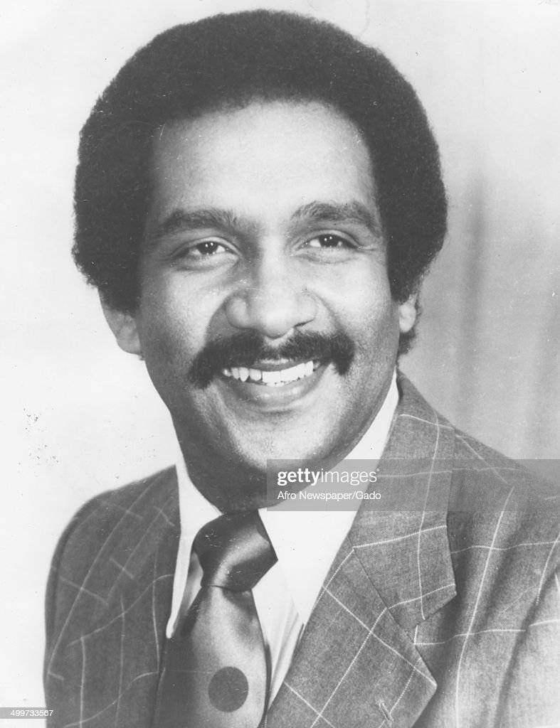 Portrait of former Maryland State Senator Clarence Mitchell III (1939 - 2012) wearing Afro haircut, 1986.
