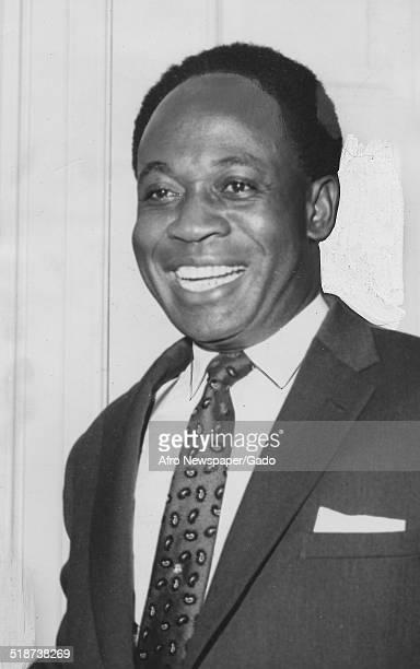 Portrait of former president of Ghana Kwame Nkrumah March 18 1961