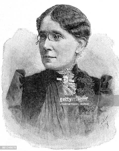 Portrait of Frances Willard an American educator temperance reformer and women's suffragist Dated 19th Century