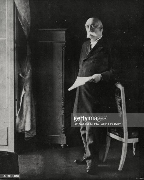 Portrait of Francesco Crispi Italian politician from L'Illustrazione Italiana Year LIV No 43 October 23 1927
