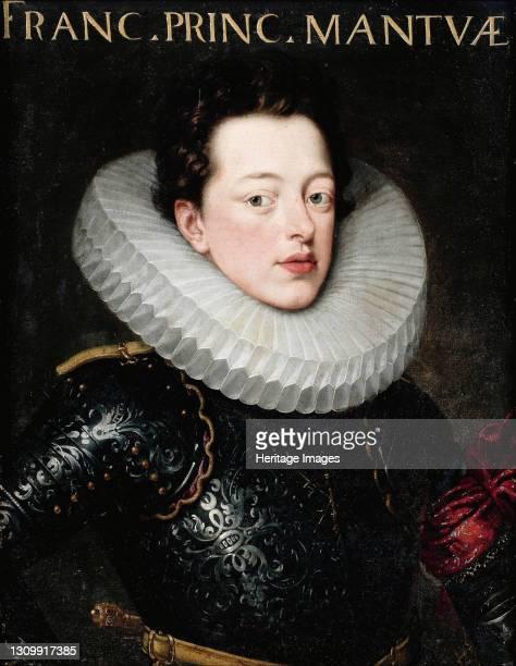 Portrait of Francesco IV Gonzaga , Duke of Mantua. Private Collection. Artist Pourbus, Frans, the Younger . .