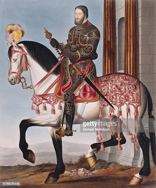 Portrait of Francis I King of France