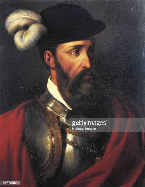 Portrait of Francisco Pizarro Found in the Collection of Musée de l'Histoire de France Château de Versailles