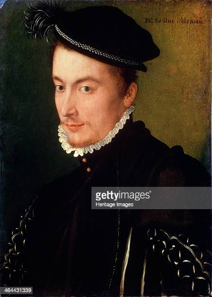 'Portrait of Francois de Valois, Duke of Alencon', late 1560s. Francis, Duke of Anjou and Alencon was the youngest son of Henry II of France and...