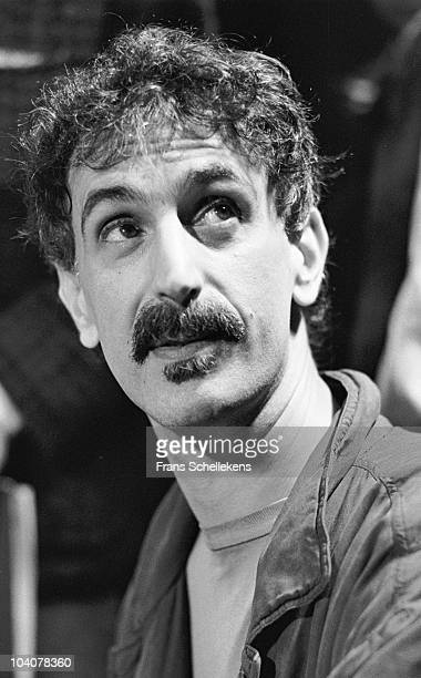 Portrait of Frank Zappa during a press conference at Ahoy on May 3 1988 in Rotterdam, Netherlands.