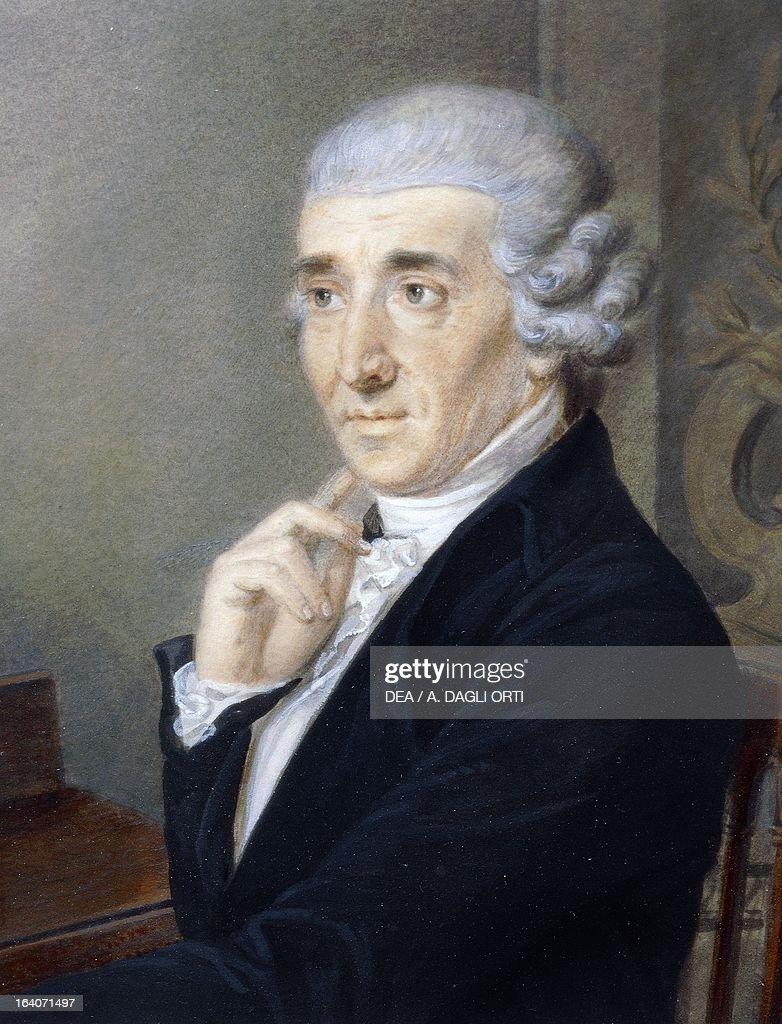 Portrait of Franz Joseph Haydn... : Photo d'actualité