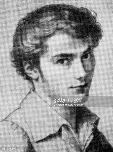 Portrait of Franz Schubert aged 16 by Leopold Kupelwieser