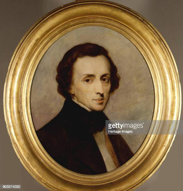 Portrait of Frédéric Chopin Found in the Collection of Dordrechts Museum
