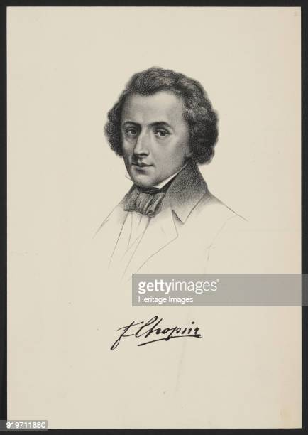 Portrait of Frédéric Chopin Found in the Collection of Fryderyk Chopin Institute Warsaw