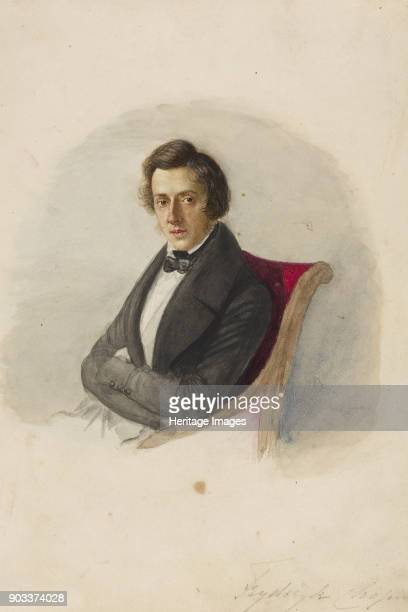 Portrait of Frédéric Chopin Found in the Collection of Muzeum Narodowe Warsaw