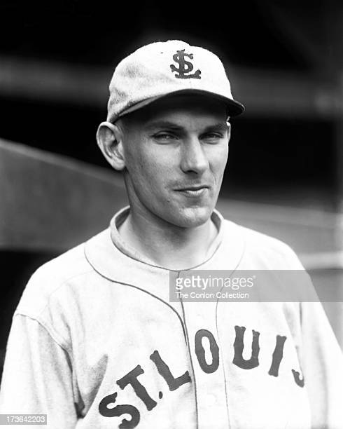 A portrait of Fred W Schulte of the St Louis Browns in 1927