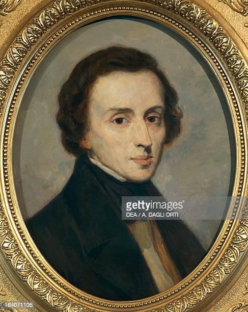 Portrait of Frederic Chopin Polish pianist and composer Painting by Ivan Boxel Zelazowa Wola Dom Urodzenia Fryderyka Chopina W Zelazowej Woli
