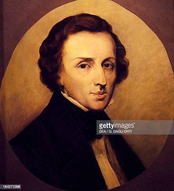 Portrait of Frederic Chopin Polish pianist and composer Paris Salon Chopin Bibliothèque Polonaise De Paris Societé Historique Et Litteraire Polonaise