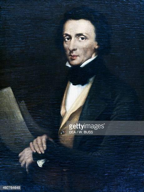 Portrait of Frederic Chopin Valldemossa Palma de Mallorca Balearic Islands Spain