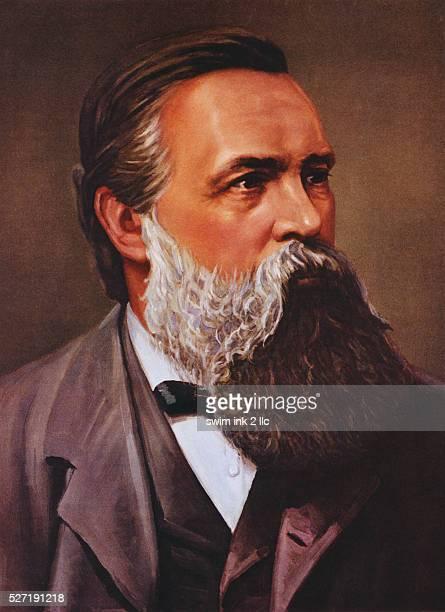 Portrait of Frederich Engels