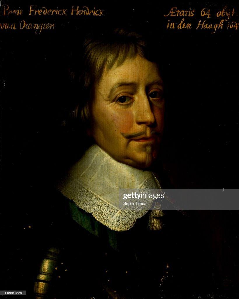 Portrait Of Frederick Henry Prince Of Orange Frederik