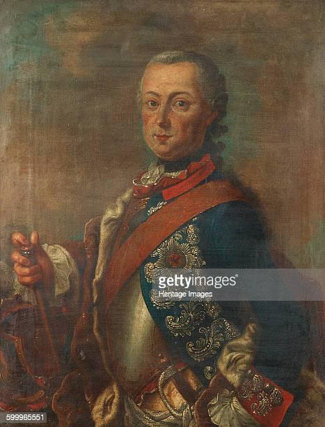 Portrait of Frederick II of Prussia Private Collection Artist De la Croix Pieter Frederik