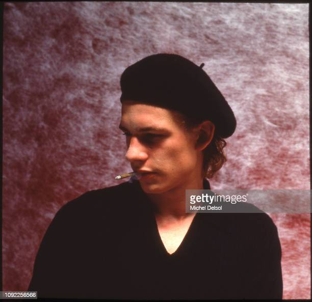 Portrait of French actor Guillaume Depardieu as he promotes the film 'Tous les Matins du Monde' New York New York September 8 1992 In the film his...