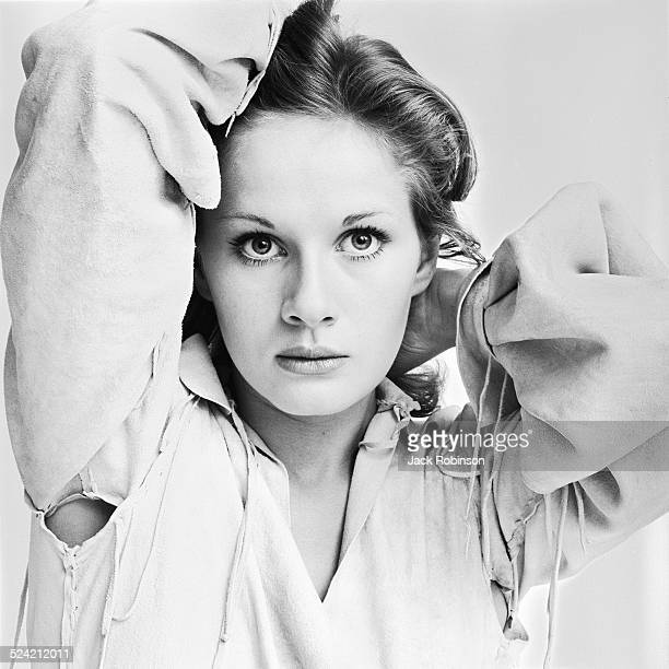 Portrait of French actress and model Dominique Sanda New York New York October 1970
