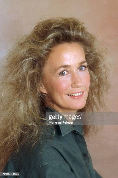 Portrait of French Actress Brigitte Fossey