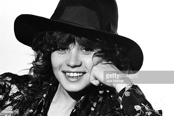 Portrait of French actress Maria Schneider 1973 The previous year at 20yearsold she had starred opposite Marlon Brando in the film 'Last Tango in...