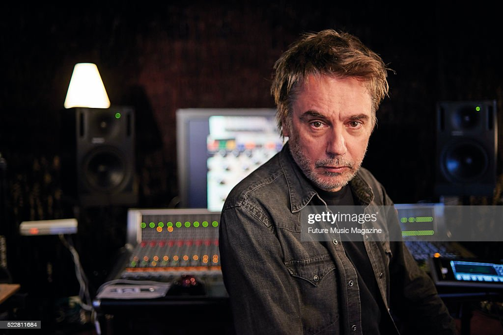 Jean Michel Jarre Portrait Shoot
