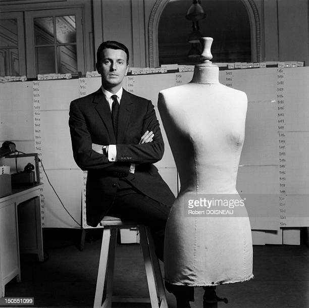 Portrait of French fashion designer Hubert de Givenchy 1960 in France