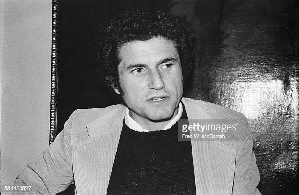 Portrait of French film director Claude Lelouch New York New York May 11 1978