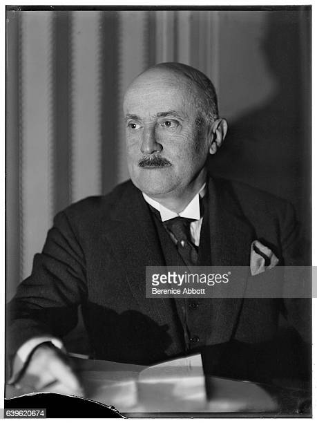 Portrait of French politician and Prime Minister of France Joseph Caillaux 1920s