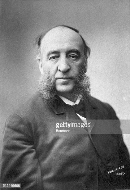 Portrait of French politician Jules Ferry Collection Felix Potin Photograph ca 1880s