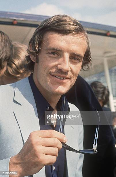 Portrait of French skier JeanClaude Killy taken in Evian in 1970 Killy won three gold medals during the 1968 Winter Olympic Games in Grenoble...