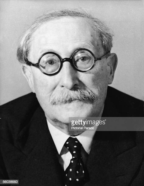 Portrait of French Socialist Party leader Leon Blum chairman of the provisional government of France and former prime minister 1946