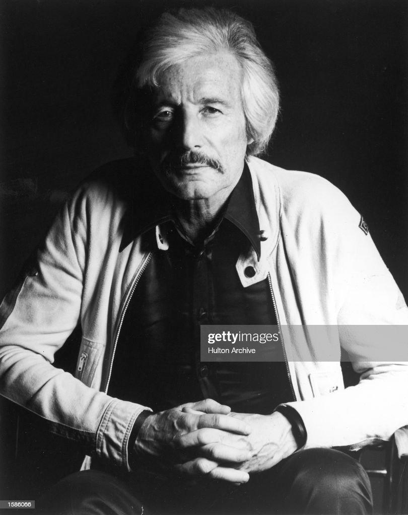 Portrait of fashion designer Oleg Cassini, 1970s. : News Photo
