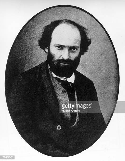 Portrait of Frenchborn painter Paul Cezanne Regarded as one of the most astute PostImpressionist painters Cezanne departed from the Romantic...