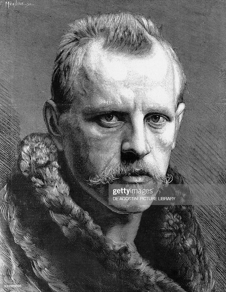 Portrait of Fridtjof Nansen... : News Photo
