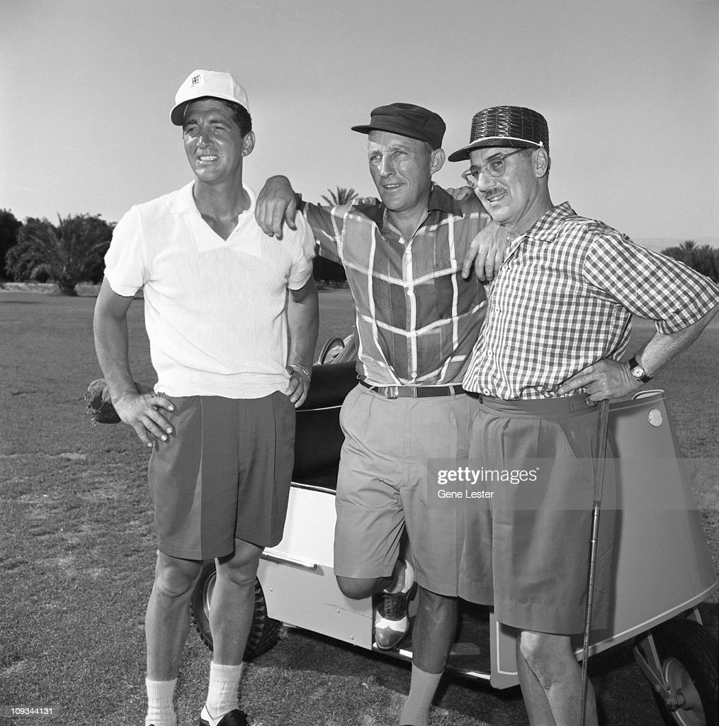 Dean, Bing, & Groucho On The Golf Course : News Photo