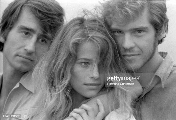 Portrait of, from left, American actor Sam Waterston, English actress Charlotte Rampling, and Australian singer and actor Robie Porter in the film...